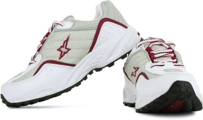 Sparx Running Shoes(Silver, Red)