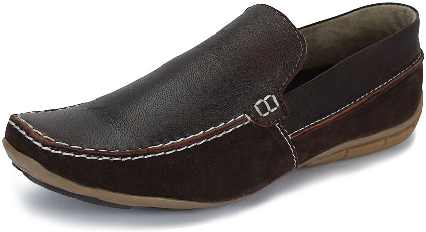 Sole Strings 1011 Loafers(Brown)
