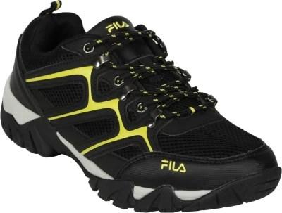 Fila Fix Running Shoes(Black, Yellow, Silver)