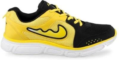 Lancer Black Yellow Running Shoes(Black, Yellow)