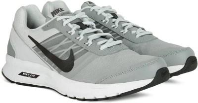 Nike AIR RELENTLESS 5 MSL Men Running Shoes(Black, Grey, White)
