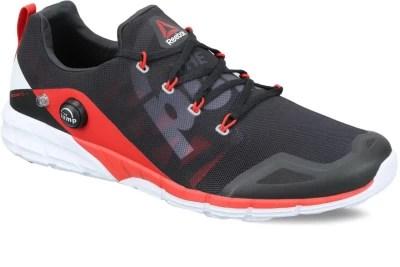 Reebok REEBOK ZPUMP FUSION 2.0 Men Running Shoes(Black, Red)