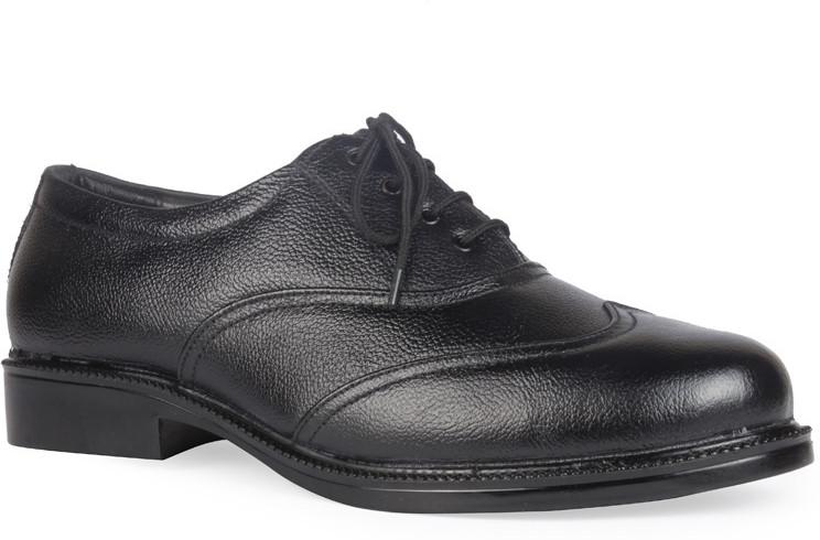 Leather King Joseph Black Lace Up(Black)