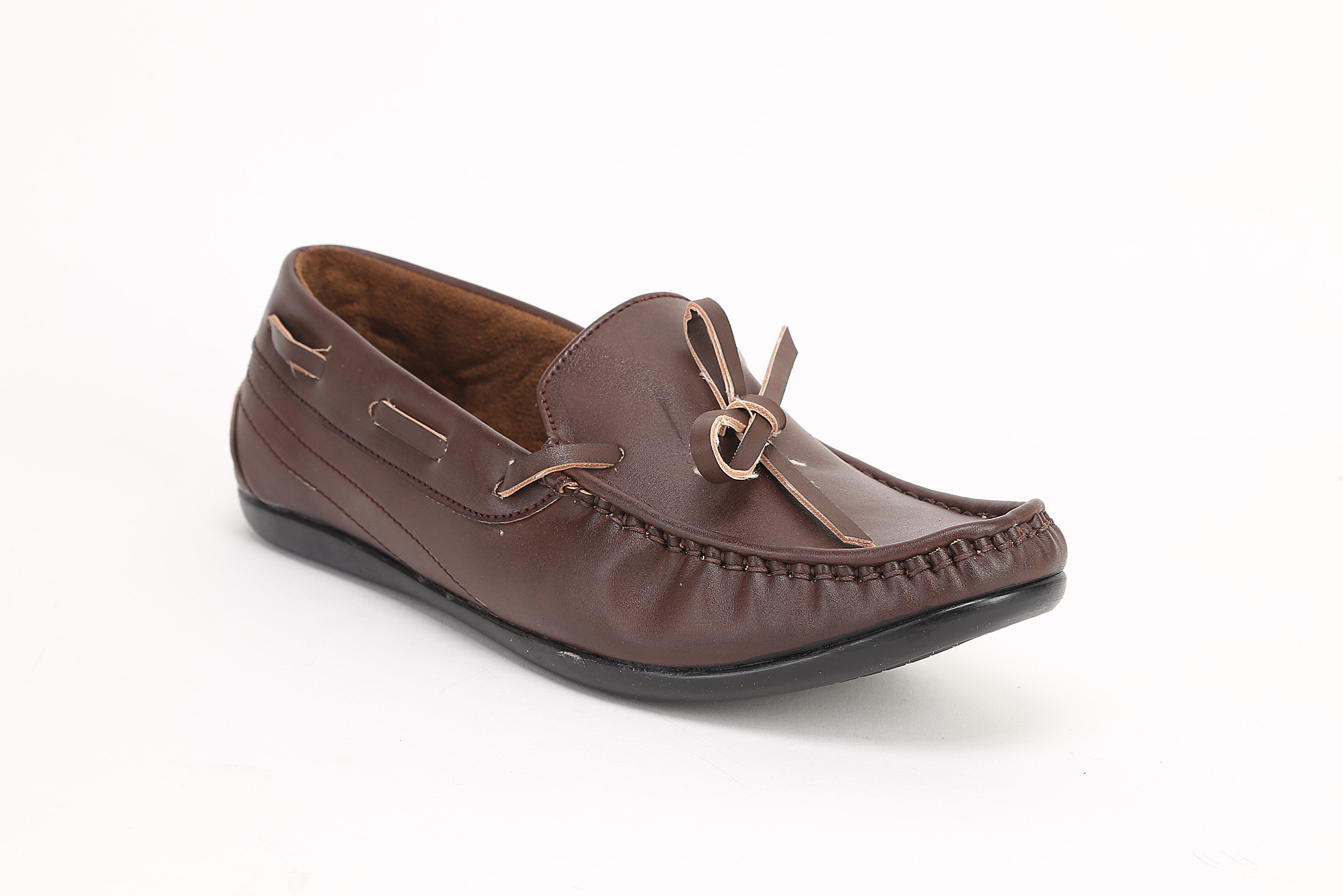 Quarks Knot Loafers(Brown)
