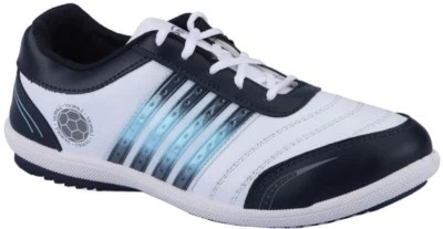Lancer Running Shoes(White, Navy)