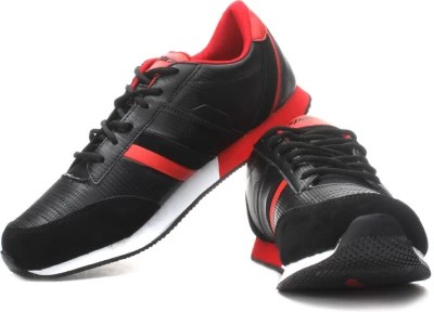 Sparx Running Shoes(Black, White, Red)