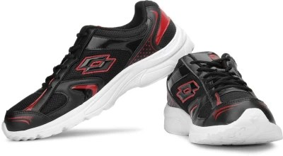 Lotto Trojan Running Shoes(Red, Black)