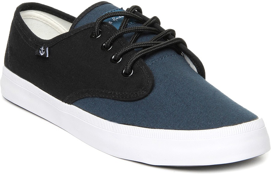 Mast & Harbour Canvas Shoes(Blue)