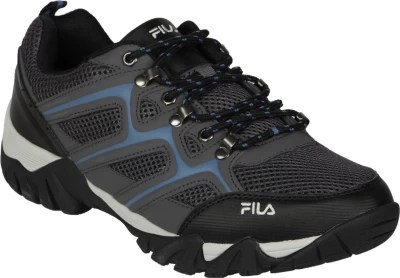 Fila Fix Running Shoes(Black, Blue)