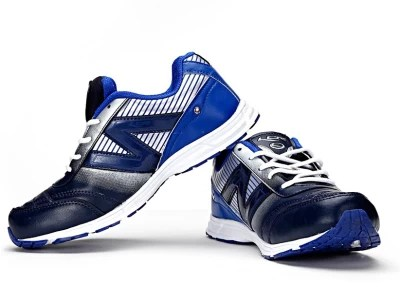 Lancer Adelaide RoyalBlue & Silver Running Shoes(Blue, Silver)