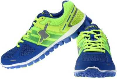 Sparx Running Shoes(Green, Blue)