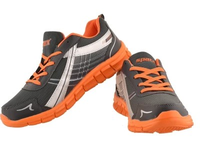 Sparx Running Shoes(Grey, Orange)
