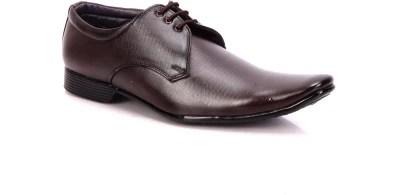 Adam's Heel Men Lace Up Shoes(Brown)