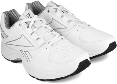 Reebok COMFORT RUN Running Shoes(Silver, White)