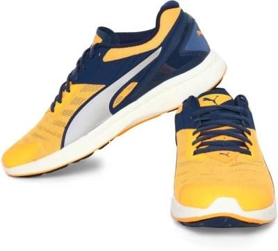 Puma IGNITE v2 Running Shoes(Yellow)