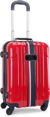 Tommy Hilfiger Lochwood Plus Check-in Luggage - 18.5 inch(Red)