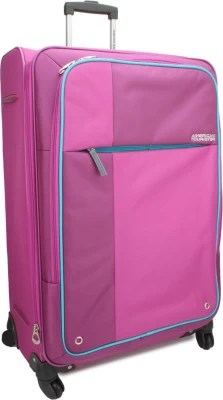 American Tourister Hugo Spinner 66 Cm -Magenta Expandable  Check-in Luggage - Large(Magenta)