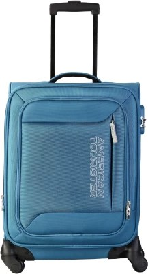 American Tourister Mocha Spinner 55Cm - Ns Blue Cabin Luggage(Ns Blue)