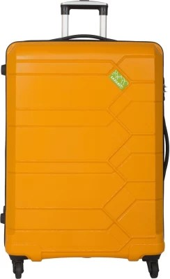 Safari DNA 4wh Expandable  Check-in Luggage - 31 inch(Yellow)