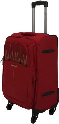 Safari Pump 55 4WH Cabin Luggage - 22 inch(Maroon)