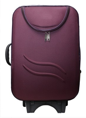 One Up ExpandPurpleSuit Expandable  Cabin Luggage - 23 inch(Purple-20)