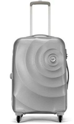 Skybags Polycarbonate 79 Silver Hardside Cabin Luggage - 55 inch(Silver)