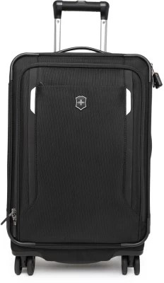 Victorinox Werks Traveler 5.0 Dual-Caster Global Carry_on Expandable  Cabin Luggage - 20 inch(Black)