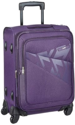 Skybags VENICE SMART 4W STROLLY 56 PURPLE Cabin Luggage(Purple)