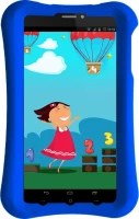 Pinig Kids Smart Tablet 0 to 5 with Blue Bumper 8 GB 6.9 inch with Wi-Fi+3G(Silver & Black)