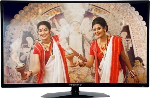 Videocon 54.6cm (22) Full HD LED TV(VKC22FH-ZM, 2 x HDMI, 1 x USB)