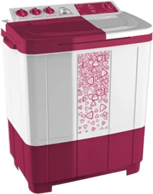 Videocon 7.2 kg Semi Automatic Top Load Washing Machine(Flora WM VS72L14-BRK)