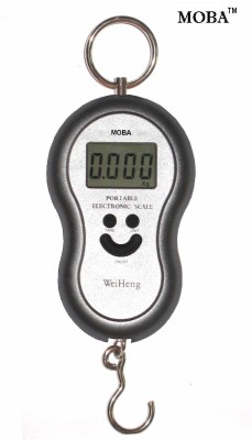 MOBA WeiHeng 50kg Portable Hook Weighing Scale(Silver)