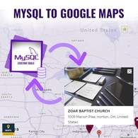 Mysql To Google Maps