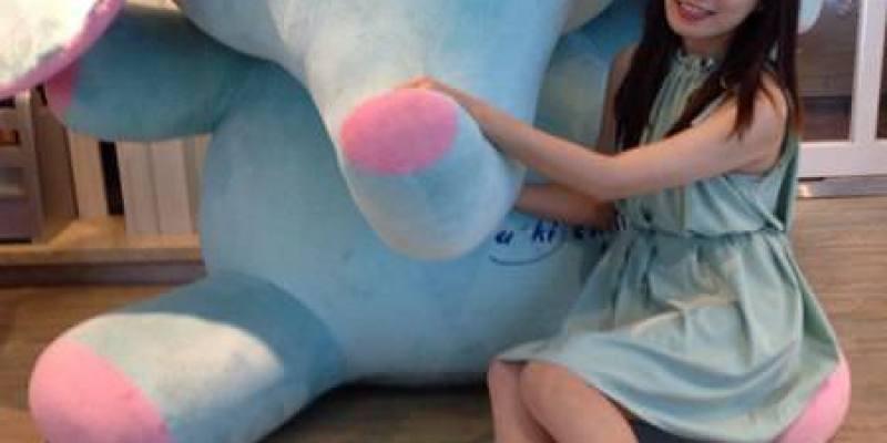 【東區下午茶】有著超療癒水藍色大象的u*ki smile coffee
