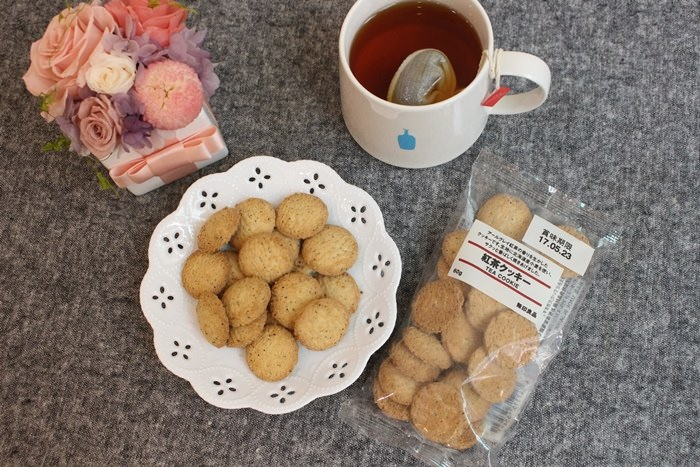 【MUJI無印良品】最近熱愛的零食:無印良品紅茶餅乾(伯爵紅茶風味)