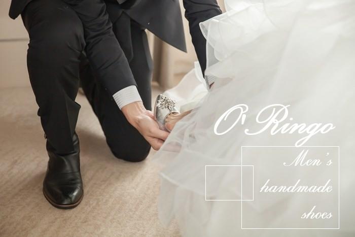 【Wedding】新郎的行頭Part2-已穿三年的手工皮鞋@ORINGO林果良品