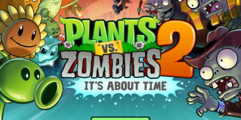 [Game] Plants vs Zombies 2 一玩就停不下來的植物大戰殭屍2