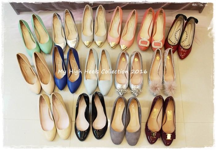 【shoes】好懷念高跟鞋之~鞋櫃裡的15雙高跟鞋收藏~