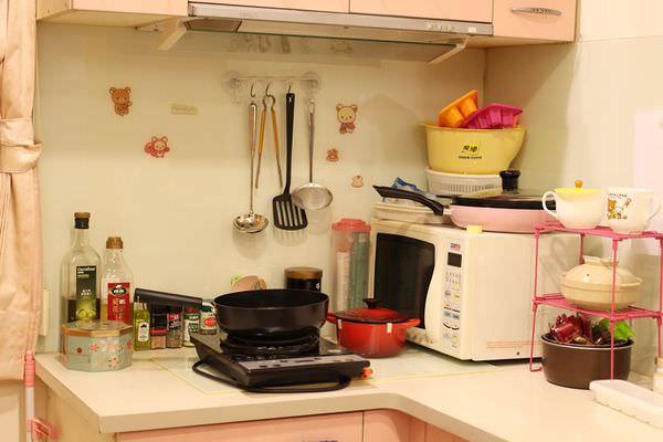 【整理】我的保養櫃+小廚房