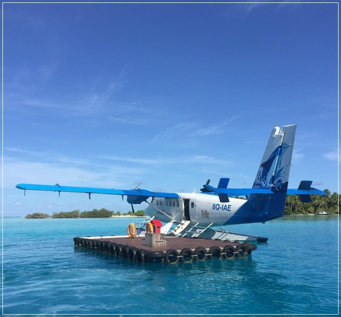 【Honeymoon】Maldives 馬爾地夫蜜月-Day2馬列群島的水上飛機+水上快艇接駁篇