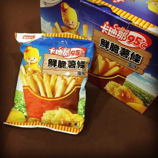 【貪吃】costco好市多零食~卡迪那鮮脆薯條!