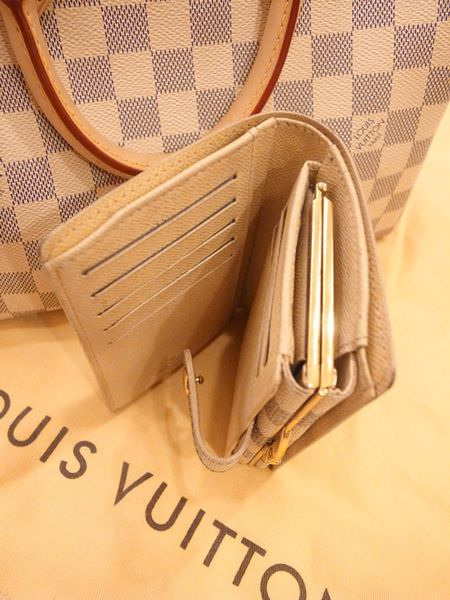 Louis Vuitton-LV-speedy 25-白色棋盤格 N41534-中夾-名片夾-零錢包-monogram-my wedding gift (27)