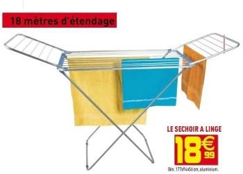 Promotion Gifi Le Sechoir A Linge Produit Maison Gifi Menage Valide Jusqua 4 Promobutler