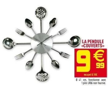 Promotion Gifi La Pendule Couverts Produit Maison Gifi Interieur Et Decoration Valide Jusqua 4 Promobutler