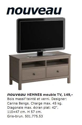 hemnes meuble tv
