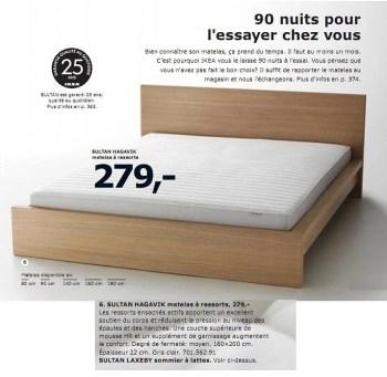 Produit Maison Ikea Sultan Hagavik Matelas A Ressorts En Promotion Chez Ikea