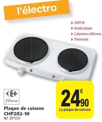 Produit Maison Carrefour Plaque De Cuisson Chp202 10 En Promotion Chez Carrefour