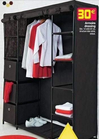 Produit Maison Gifi Armoire Dressing En Promotion Chez Gifi