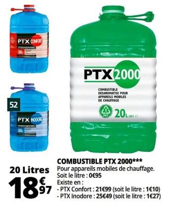 Produit Maison Auchan Ronq Combustible Ptx 2000 En Promotion Chez Auchan Ronq