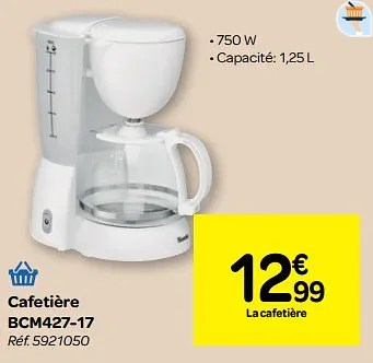 cafetiere carrefour